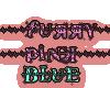 ears furry blue pink