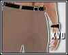 [X] Beige Dress Pants.