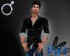 [RVN] Black Men's shirt