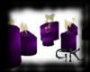 (GK) Purple Candles