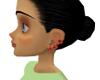 Ruby Studded Earrings