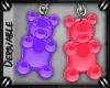 o: Gummy Bear Earrings M