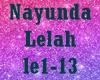 Nayunda~Lelah