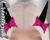 Black Horns /Pink Bows
