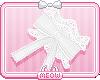 ♥White Neko Cuffs