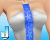 Flor SwimSuit SilverBlue