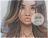 J | Indigo brunette