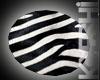 Zebra Rug (Round)