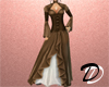 Victorian Dress (brown)