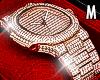 Rose Gold Diamond Watch