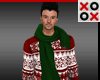 FUGLY Poinsettia Sweater