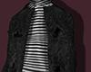 Black coat& sweater