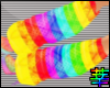 :S Rainbow Leg Warmers