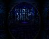 blue neon apartment