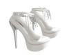 [BRI] White Silver Heels