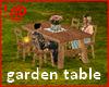 !@ Garden table