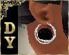 DY* Black Earrings