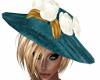Nan-Teal Hat