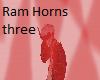 Ram Horns tree