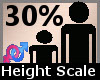 Height Scale 30% F A
