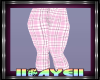 Kids Pink Plaid Jeans 2