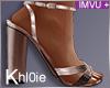 K rose gold heels +