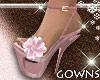 Spring Flower Heels Pink