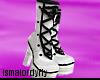 Is~ White Loli Heels