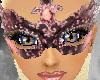 Pink & Black Mask