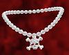 Diamond Skull Silver