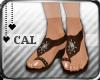 [c] Gem Sandals Brown