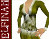 [E] Jewel Gown Olive