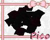 [P] Black/Purple Pillows