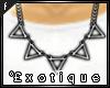 .e` Opium necklace.  F  