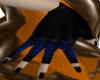 Jester Cutie Blue Gloves