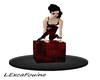 LXF Red pose cube