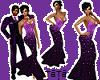 Miss dress violet