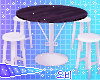 Cafe Stool Table