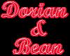 (1M) Dorian&Bean neon