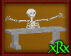 Skeleton Bench