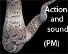 (PM)Python tail W/sound