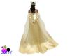 Queens Golden cape