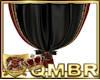 QMBR Asian Black Curtain