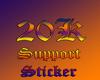 20k Supportl Sticker