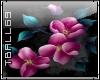 emboss floral bouquet