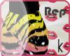 K ~ Rep Zebra Shorts