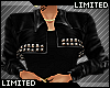 ✔ Black Leather Jacket
