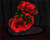 m28 Fountain red rose