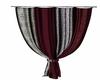Crimson Line Curtain