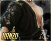 忍 Hanzo Kimono Top